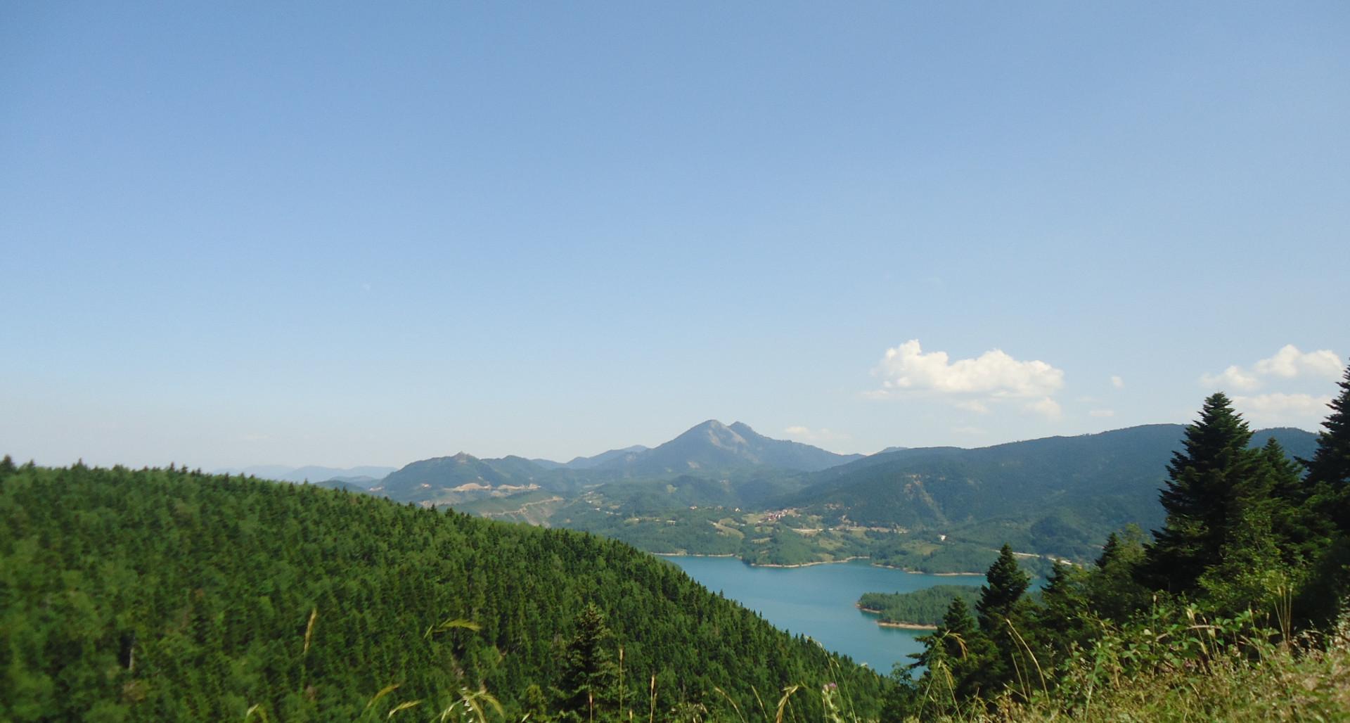 Λίμνη Πλαστήρα - Άγραφα - Νομός Καρδίτσας