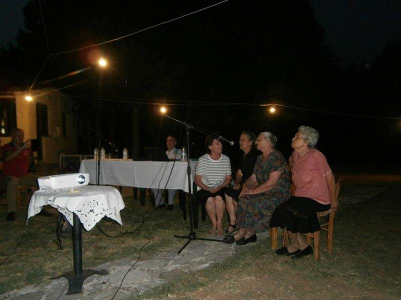 Ντίνα Ξυδιά, Αγορή Ζουμπογιάννη, Μαριγώ Ντάλη κι Ευθυμία Εγγλέζου υποδέχονται με τοπικά τραγούδια τους καλεσμένους της ημερίδας