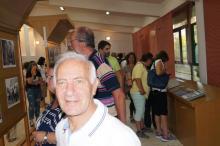 Διοργάνωση Έκθεσης Φωτογραφίας από το Σύλλογο (Συλλογή Βασ. Κίσσα) Επισκέπτες στην Έκθεση Φωτογραφίας